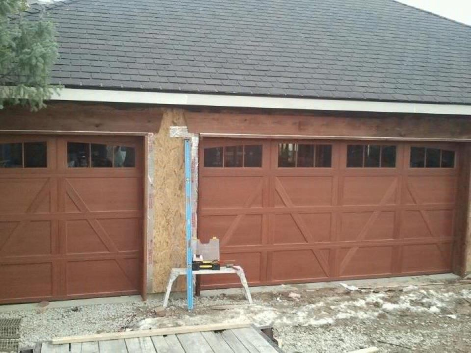A Door Hinges Weakened Or Unsecured Can Turn Your Garage Into A Haven For  Intruders. When Their Garage Door Jam Or Break, Some People Just Make  Temporary ...