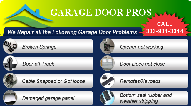 Offers Garage Doors Thornton Garage Door Repair